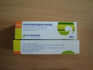 Эффективность гепариновой мази при геморрое