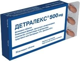 Эффект от препарат Детралекс при геморрое