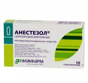 Какими лекарствами убрать боль при геморрое