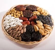Орехи и сухофрукты полезны при лечении болезни